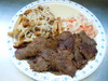 Large Donair Plate